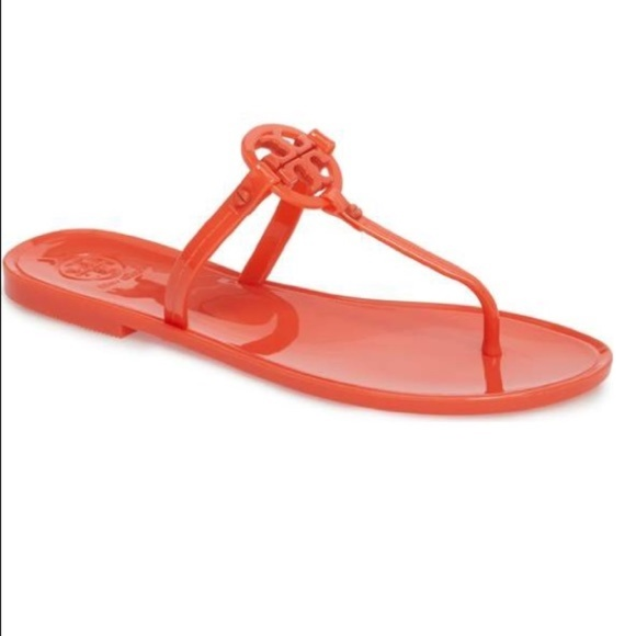89768ed391d9 New Tory Burch Mini Miller Jelly Sandals